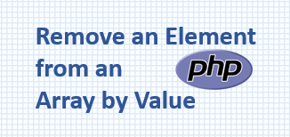 PHP remove element from array by value